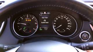 Qashqai J11 - Chassis Control & Stop/Start System Fault