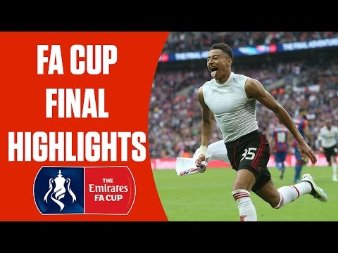 FA Cup Final: Crystal Palace 1-2 (aet) Manchester United | Highlights and Goals