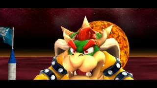 Super Mario Galaxy - Boss 8 - Bowser - Full-HD (1080p) Dolphin Nintendo Wii Emulator