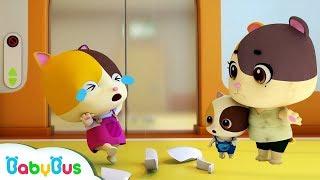 Mèo Timi & Mimi gặp động đất   Bài hát động đất   Nhạc thiếu nhi - Kỹ năng an toàn   BabyBus