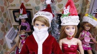 Nhà Búp Bê Barbie -  Đêm Giáng Sinh - Ông Già Noel Ken