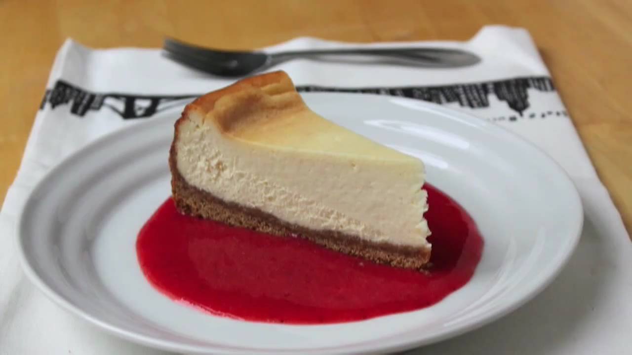 Food Wishes Recipes - New York Style Cheesecake Recipe ...
