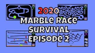 2020 New Marble Race Survival Episode 2