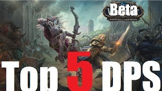 Top 5 Battle for Azeroth 120 DPS (Beta)