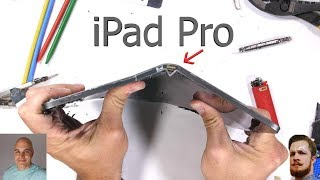 iPad Pro 2018 Bend test Fiasco! JerryRigEverything vs Snazzy Labs! Do ALL Tablets bend easy as iPad?