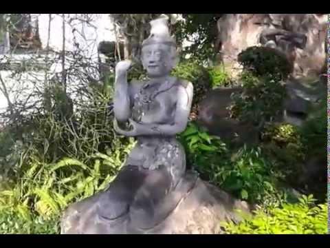 Rishi Datton (Hermit Thai yoga) Wat Pho Bangkok ฤาษีดัดตนวัดโพธิ์ กรุงเทพ
