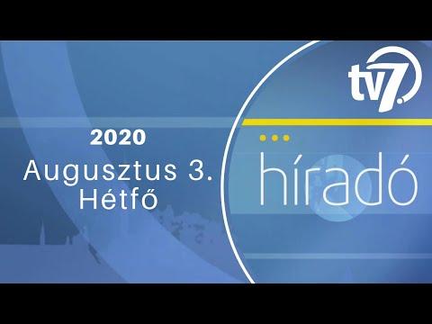 Békés megye hírei - Híradó - 2020. 08. 03.