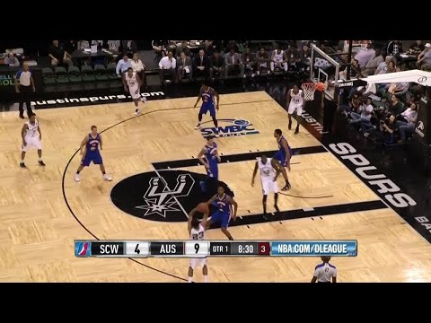 Spurs Rookie Kyle Anderson Drops 18 Points 11 Rebounds 6
