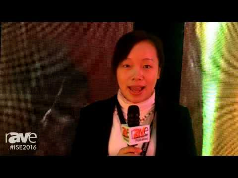 ISE 2016: Huasun Technology Co. Shows Flexible LED Display
