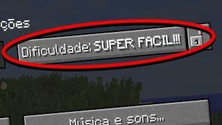 CONHEÇA A NOVA DIFICULDADE SUPER FÁCIL DO MINECRAFT! (PARA NOOBS)