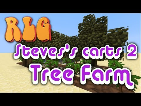 Feed the Beast - Steve's Carts 2 Tree Farm Tutorial