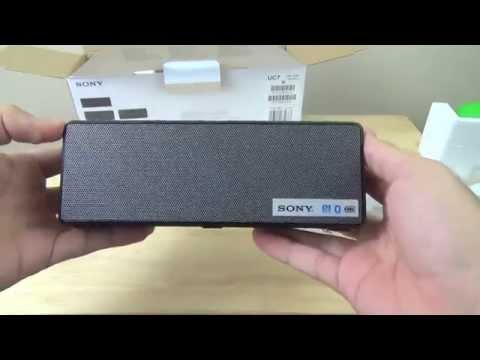 Sony SRS-X3 Bluetooth Speakers Unboxing and Review