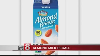 Blue Diamond recalls Vanilla Almond Breeze for containing real milk
