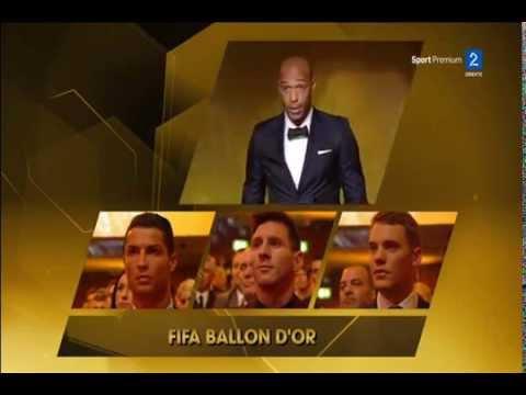 FIFA Ballon d'Or 2014 Cristiano Ronaldo Wins Full Speech