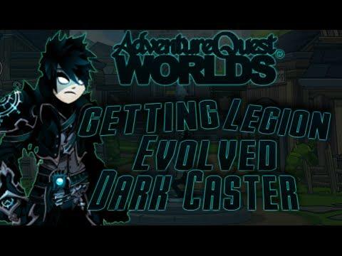 =AQW= Getting Evolved Dark Caster Class