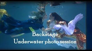 Backstage/Фотосессия под водой/Underwater photo session