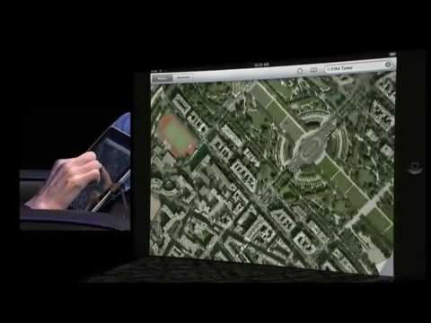 Apple Unveils the iPad - HD 720p Version:  Apple iPad, Steve Jobs Keynote - Part 3