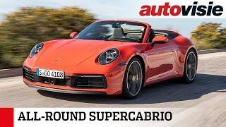 Porsche 911 Carrera S Cabriolet (2019) - Test - Autovisie TV