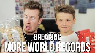 BREAKING MORE WORLD RECORDS