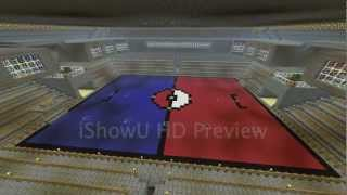 Minecraft- Pokemon Stadium Time Lapse