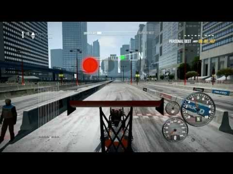 NFS Shift 2 Unleashed: Dragster Top Fuel 1/4 mile in 6.086 seconds and