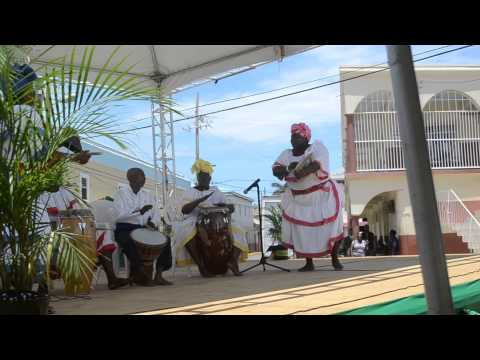 The Hatfield Dance Group at Independence Day 2015 in Falmouth, Jamaica