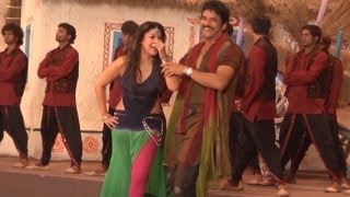 Greeku Veerudu - Making of Greekuveerudu Movie Ossina Bangaram Song