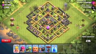 ~HACK CLASH OF CLANS~ ATTACCO EPICO A MIKITHEBEST