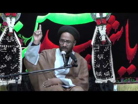 Majlis-Night Of 2nd Muharram 1438 By Maulana Syed Moosa Raza Naqvi In Darbar-e-Masumeen.