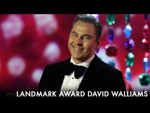 David Walliams Landmark Award - 2012 National Television Awards