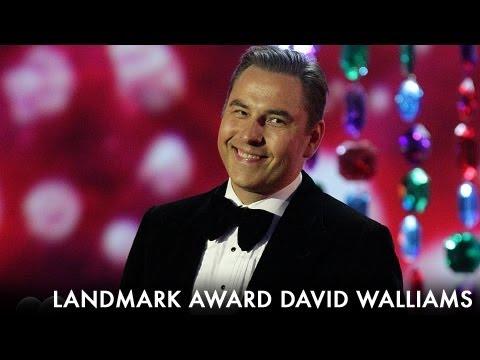 David Walliams Landmark Award - 2012 National Television Awards