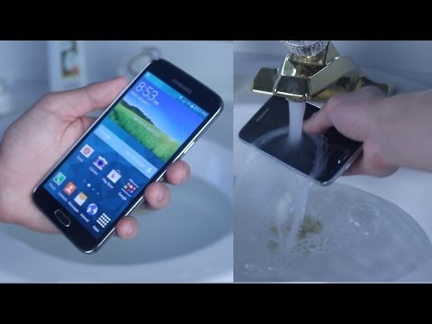 Samsung Galaxy S5 Water Test - Is It Actually Waterproof?