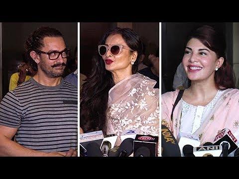 Aamir Khan's Secret Superstar Movie Celebrity Review | BOLLYWOOD REVIEW
