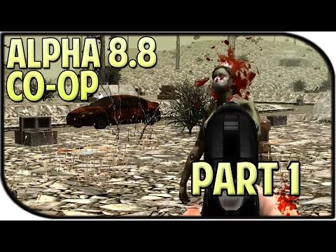 7 Days to Die Coop Gameplay w/ Taco Part 1 - Reunited!
