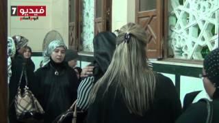 اليوم السابع | دموع ابنة الفنان الراحل شعبان حسين حزنًا على فراقه