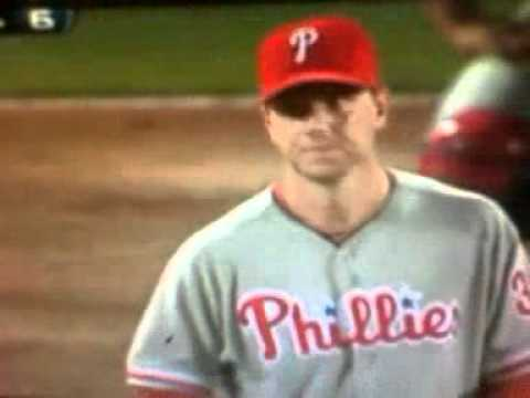 Brian McCann's reward for hitting a homer off Roy Halladay? Michael Bourn's finger in his eye