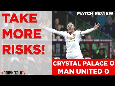 Crystal Palace 0-0 Manchester United | Premier League | Match Review | 31.10.2015