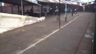 Entering Gonda Railway Station