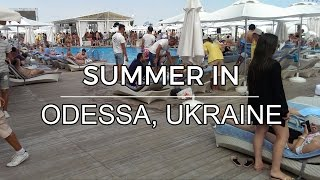 Summer in Odessa, Ukraine - Beaches and sights (July 2016)