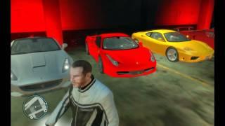 Grand Thef Auto IV (GTA 4 ) - My Mods V. 1.2 ( Sport's Car's ) [HD]