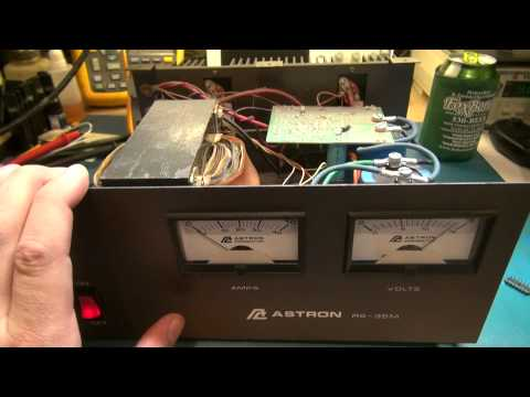 ASTRON RS-35M POWER SUPPLY REPAIR