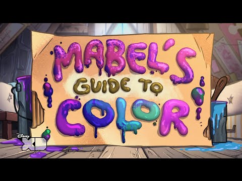 Gravity Falls - Mabel's Guide To Color - Official Disney XD UK HD MP3