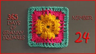 365 Days of Granny Squares Number 24