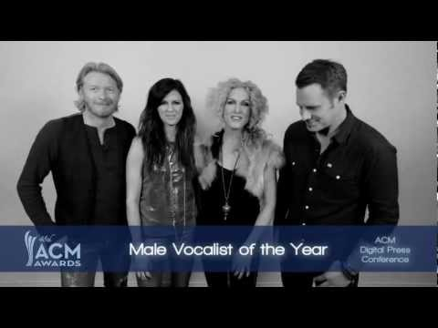 2013 ACM Awards Male Vocalist of the Year Nominees Presented by Little Big Town