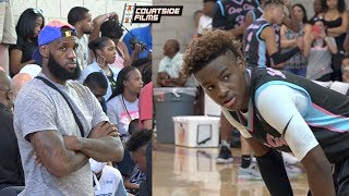 Bronny James Jr. Pulls Out a Narrow OVERTIME Victory in Front of SOLD OUT Crowd!