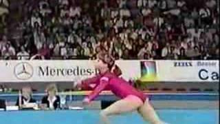 Olesya Dudnik - 1989 Worlds EF - Floor Exercise