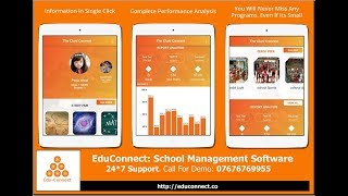 EduConnect: School Management System| School ERP |Campus Administration Software | School Automation