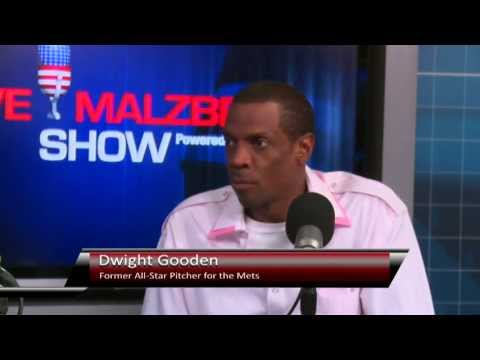 Dwight Gooden, former All-Star Pitcher for the Mets