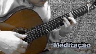 Tom Jobim Meditacao Meditation Solo Guitar