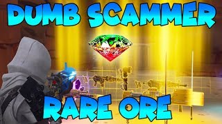 Dumb Scammer Has *RARE* ORE!! (Scammer Gets Scammed) Fortnite Save The World